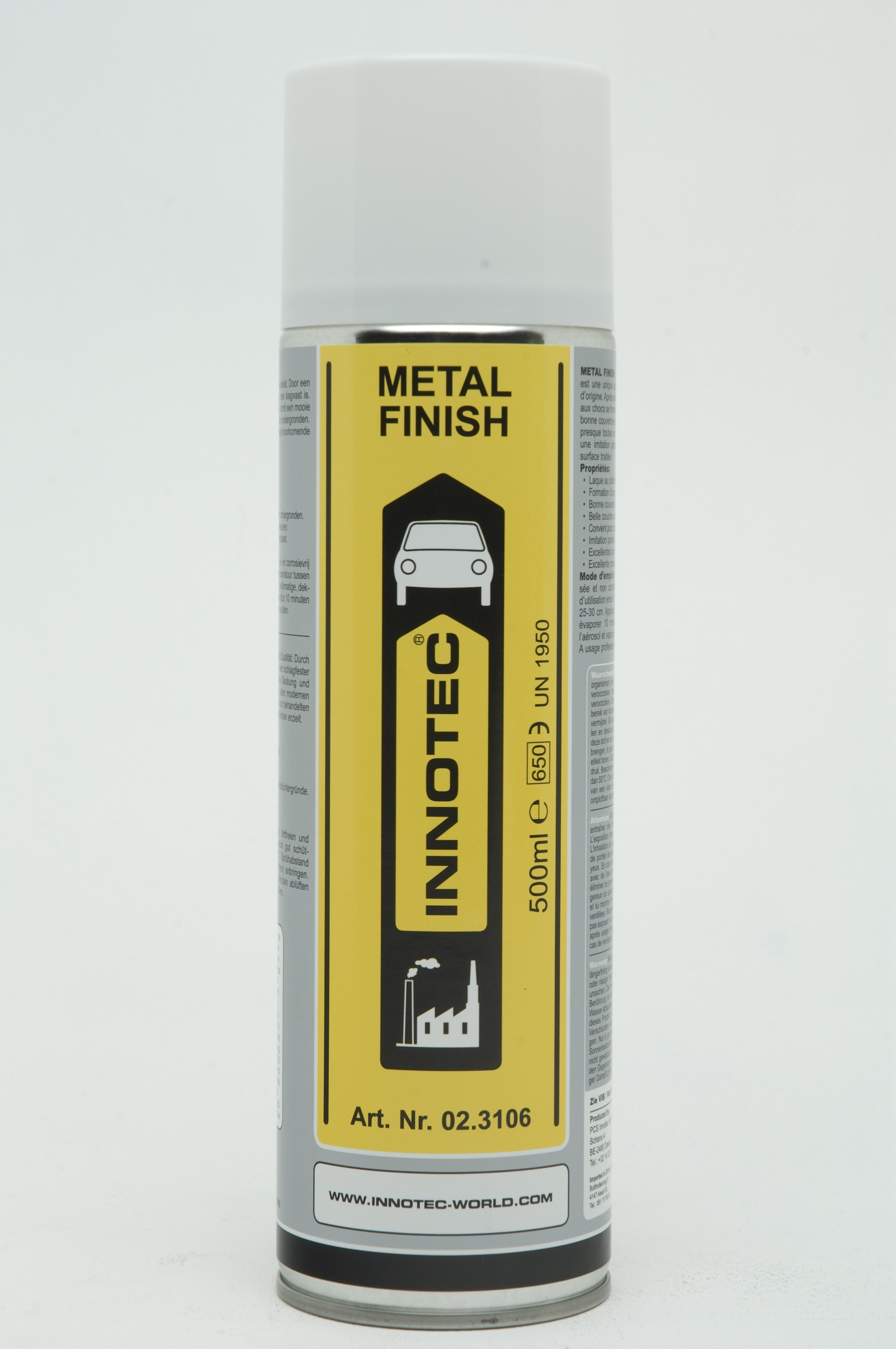 METAL FINISH-PEINTURE METAL 500ML