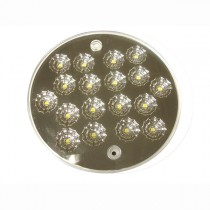 PLAFONNIER LED 24V DIAMETRE 140MM A PLAQUER