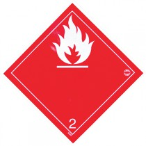 SYMBOLE DANGER 300X300 MM ALU